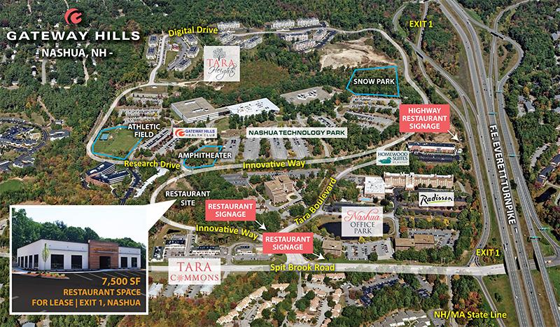 New Restaurant Site Gateway Hills