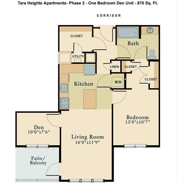 Tara Heights Floor Plans